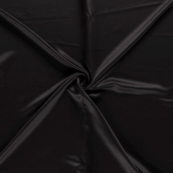 Gordijnstof verduisterend - Zwart - 30m black-out stof
