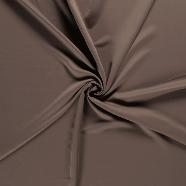 Gordijnstof verduisterend - Middentaupe - 30m black-out stof