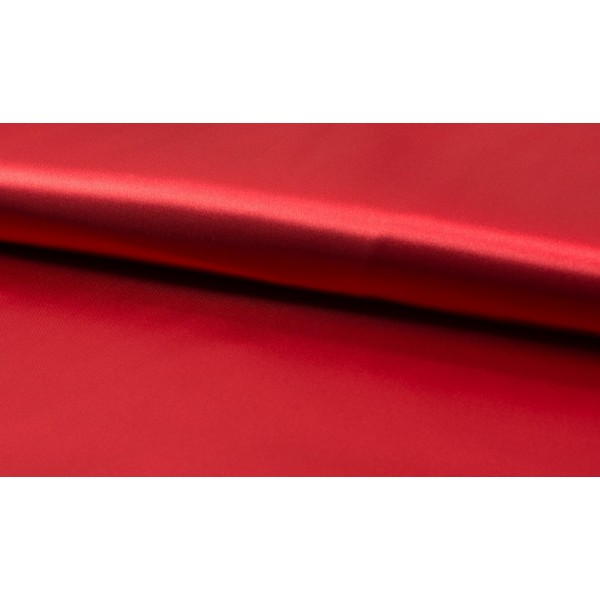 Outlet stoffen -Satijn rood