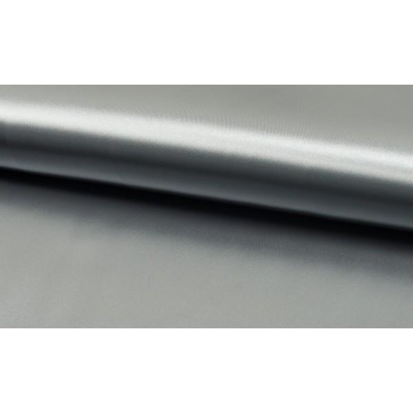 Outlet stoffen -Satijn zilver grijs