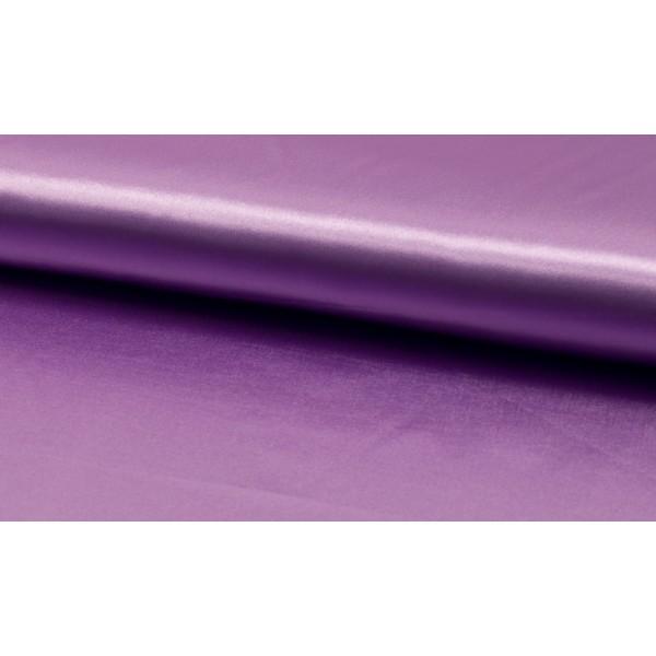 Outlet stoffen -Satijn lila