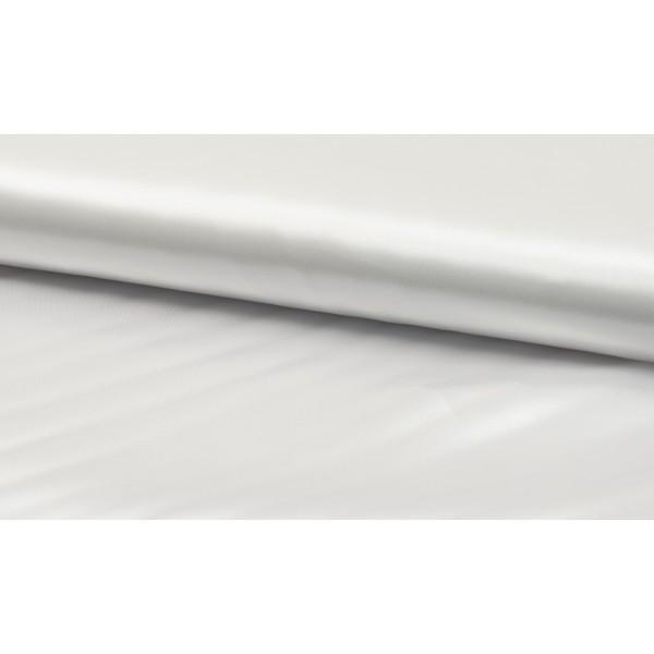 Satijn wit - Luxe satijn stof op rol - 100% polyester