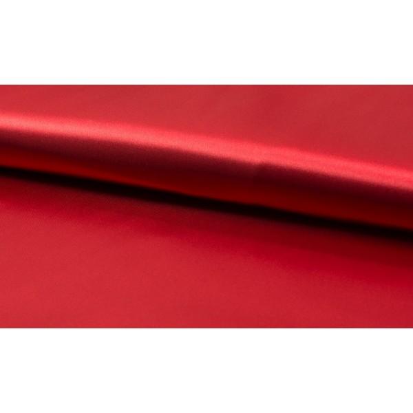 Satijn rood - Luxe satijn stof op rol - 100% polyester