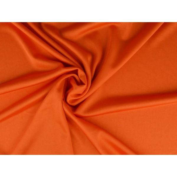 Stretch voering - Donker oranje
