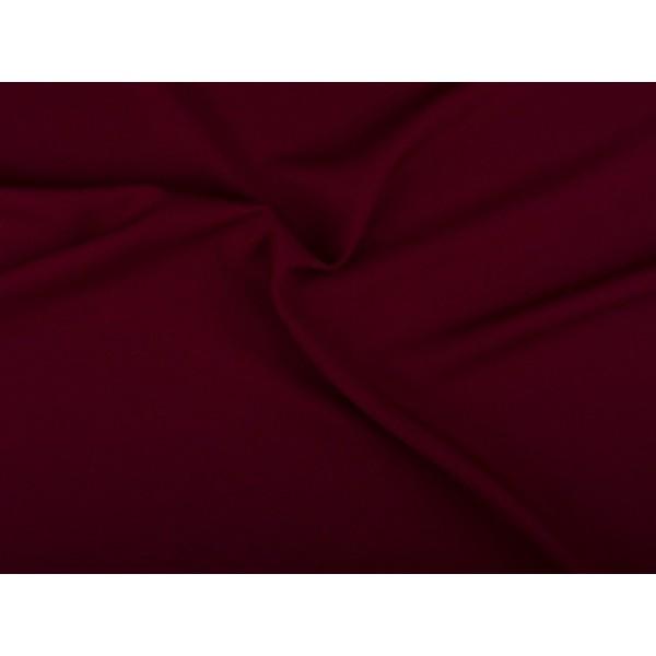 Texture stof - Bordeaux rood - 4 meter