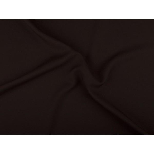Texture stof - Donkerbruin - 5 meter