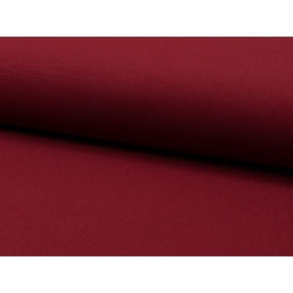 Texture stof - Wijnrood - 1 meter