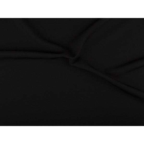 Texture stof - Zwart - 1 meter