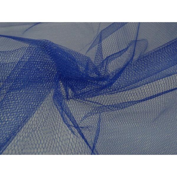 Tule stof - Blauw