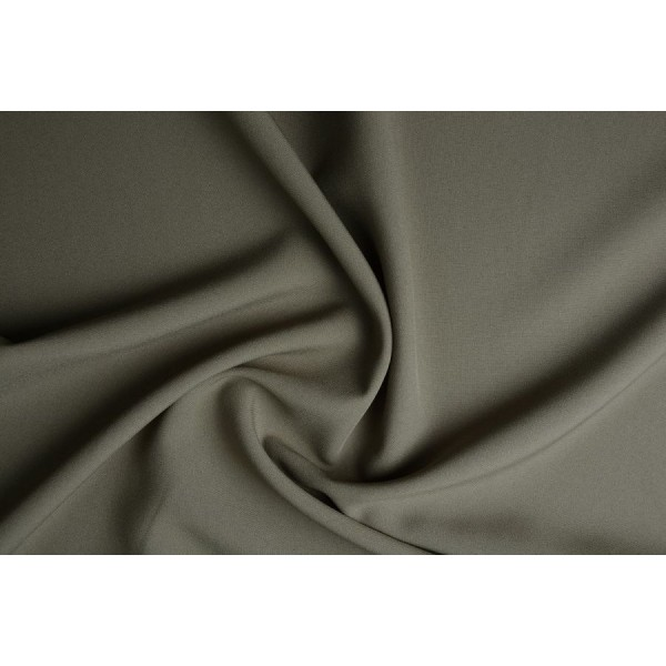 Texture  - Donkerkaki - 100% polyester