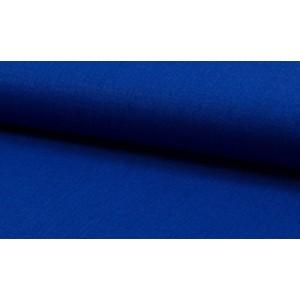 Linnen stof midnachtsblauw -  Linnen grof op rol