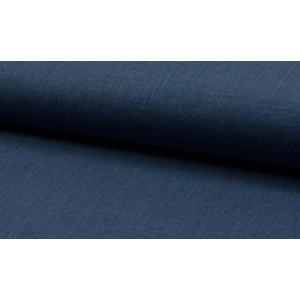 Linnen stof jeans -  Linnen grof op rol