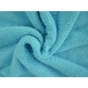 Badstof - Aqua blauw