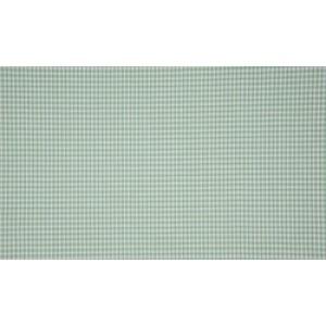 Mint wit katoen - 10m boerenbont stof op rol - Mini ruit