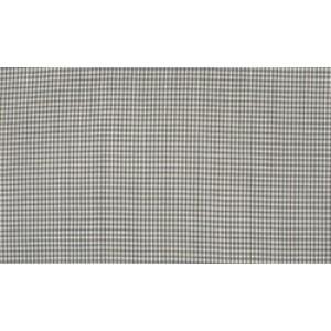 Grijs wit katoen - 10m boerenbont stof op rol - Mini ruit