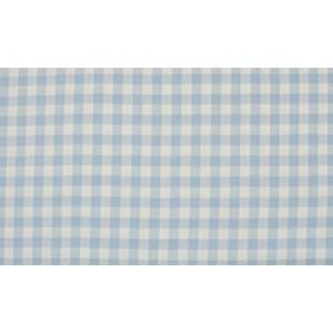 Baby Blauw wit geruite stof - 10m boerenbont stof - Katoen
