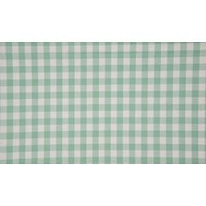 Mint wit geruite stof - 10m boerenbont stof - Katoen op rol