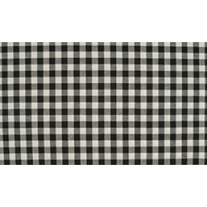 Zwart wit geruite stof - 10m boerenbont stof - Katoen op rol