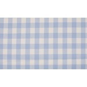 Outlet stoffen -Baby Blauw wit geruit katoen