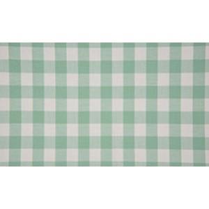 Outlet stoffen -Mintgroen wit geruit katoen