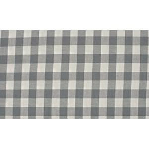 Outlet stoffen -Grijs wit geruit katoen