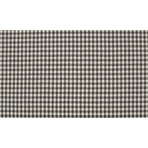 Outlet stoffen -Donkergrijs wit geruit katoen