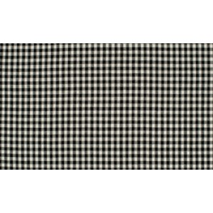 Zwart wit boerenbont - 10m katoen op rol - Kleine ruit