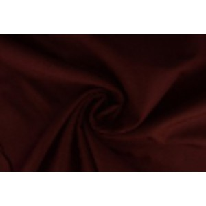 Brandvertragende texture stof bordeaux rood - 300cm breed