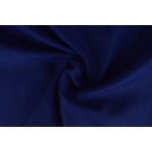 Brandvertragende texture stof cobalt - 300cm breed