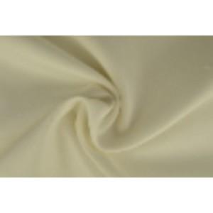 Brandvertragende texture stof gebroken wit - 300cm breed