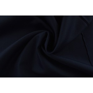 Brandvertragende texture stof navy - 300cm breed