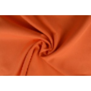 Brandvertragende texture stof oranje - 300cm breed