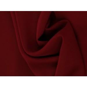 Chiffon stof - Bordeaux rood