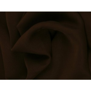 Chiffon stof - Bruin