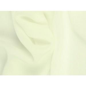 Chiffon stof - Gebroken wit