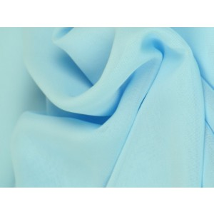 Chiffon stof - Lichtblauw