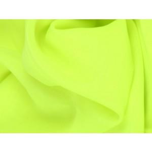 Chiffon stof - Limoengroen