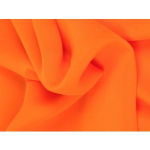 Chiffon stof - Oranje