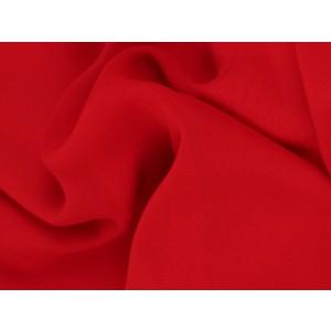 Chiffon stof - Rood