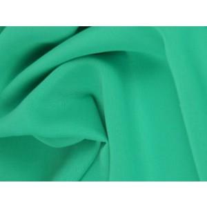Chiffon stof - Turquoise