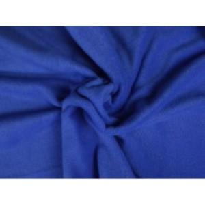 Fleece stof - Blauw
