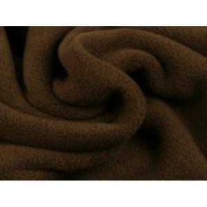 Fleece stof - Bruin