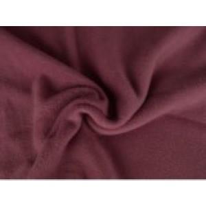 Fleece stof - Donker oud roze