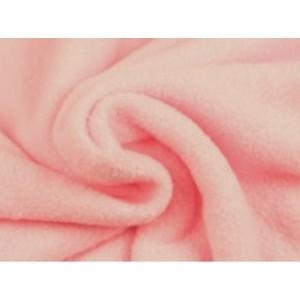 Fleece stof - Dusty roze
