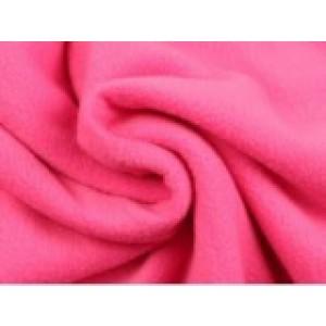 Fleece stof - Fuchsia
