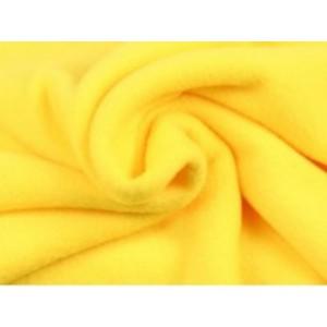 Fleece stof - Geel