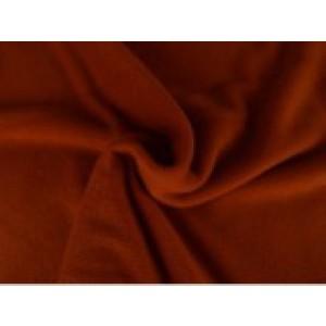 Fleece stof - Koper