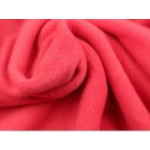 Fleece stof - Koraalroze