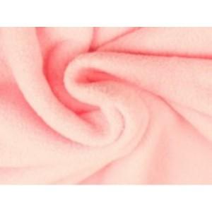 Fleece stof - Lichtroze