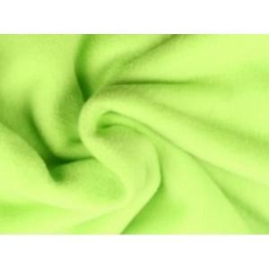 Fleece stof - Limoengroen